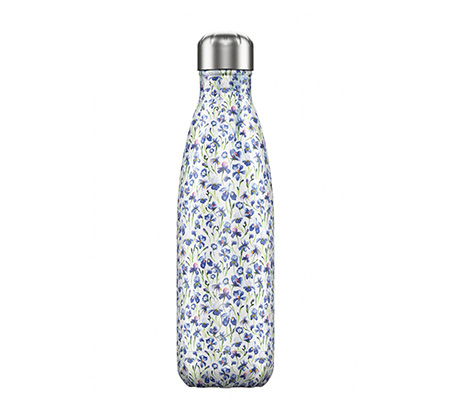 """בקבוק מים 500 מ""""ל Iris - פרחוני"""