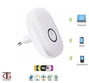 מגדיל טווח אינטרנט אלחוטי Wi-Fi Extender עד 300 מטר
