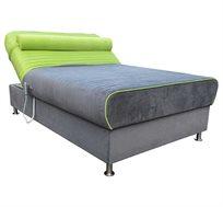 מיטה ברוחב וחצי חשמלית מזרן קפיצים מבודדים וארגז מצעים דגם סאנסה OR design