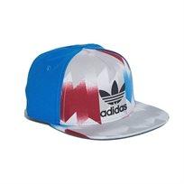 כובע ADIDAS לילדים - כחול אפור