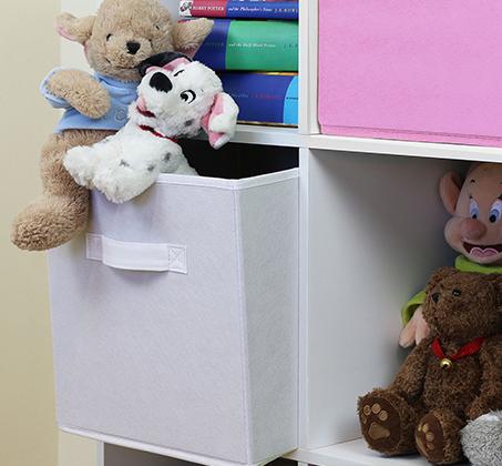 כוורת מעץ לאחסון צעצועים וספרים בחדר הילדים   - תמונה 3