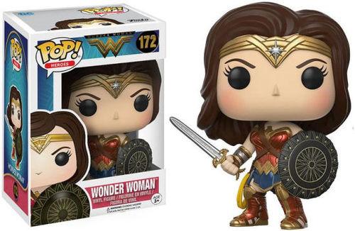 Funko Pop - Wonder Woman  (Wonder Woman)  172 בובת פופ