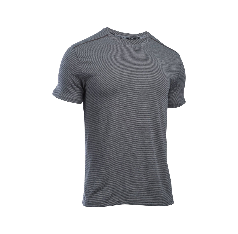 חולצת ריצה לגבר Under Armour דגם 1283380-090- אפור
