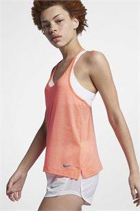 גופיית אימון Nike Miler לנשים בצבע אפרסק