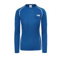 חולצה תרמית לנשים - כחול