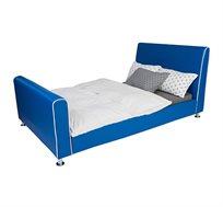 מיטת וחצי/מיטת נוער בצבע כחול רויאל - קוקולה