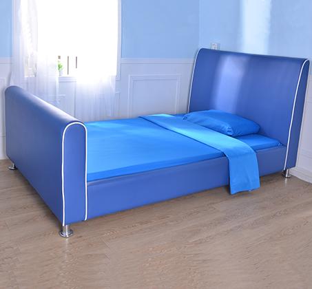 מיטת וחצי/מיטת נוער דגם נסיך בצבע כחול רויאל קוקולה - תמונה 6