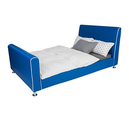 מיטת וחצי/מיטת נוער בצבע כחול רויאל