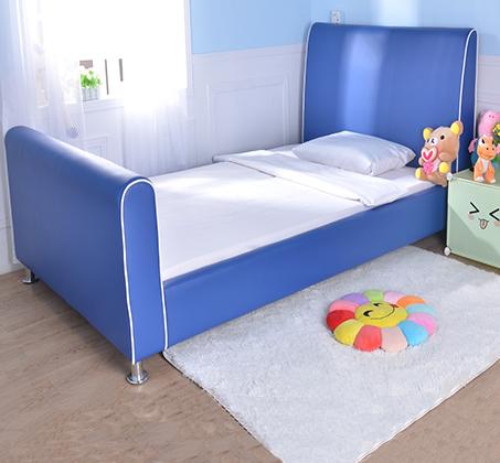 מיטת וחצי/מיטת נוער דגם נסיך בצבע כחול רויאל קוקולה - תמונה 4