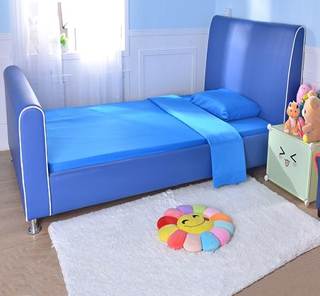 מיטת וחצי/מיטת נוער דגם נסיך בצבע כחול רויאל קוקולה - תמונה 5