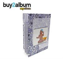 רגעים שלא תשכחו! אלבום דיגיטלי איכותי A4 אנכי בכריכה קשה, 32 עמודים