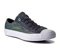 נעלי סניקרס Converse Trampki CTAS II OX נמוכות יוניסקס בצבע ירוק/אפור