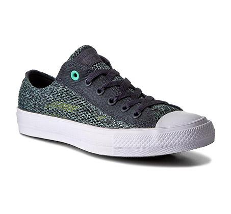 נעלי סניקרס Trampki CTAS II OX נמוכות יוניסקס - ירוק/אפור