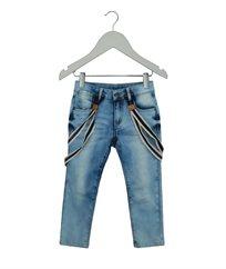 מכנסי גינס+שלייקס