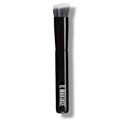 מברשת דואו פייבר לפיסול והדגשת איזור הפנים  + תיק איפור ועפרון שפתיים מתנה