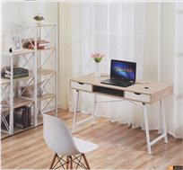 שולחן כתיבה עם 2 מגירות נשלפות