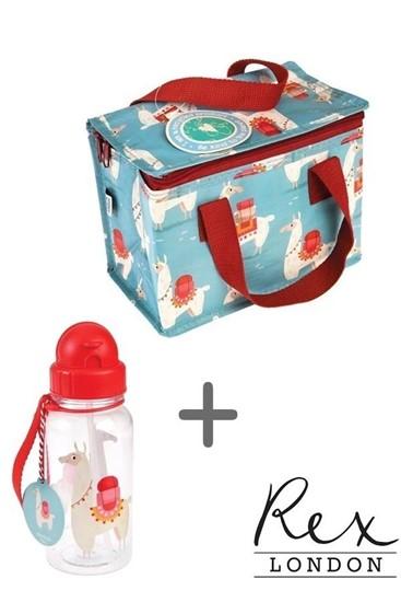 לאמה  - תיק שומר חום ובקבוק תואם
