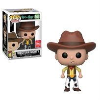 Funko Pop - Western Morty Exclusive  (Rick And Morty) 364  בובת פופ