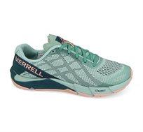 נעלי ריצת שטח לאישה MERRELL דגם J12614 בצבעי טורקיז/ורוד בהיר