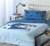 סט מצעים למיטת יחיד דגם רוק