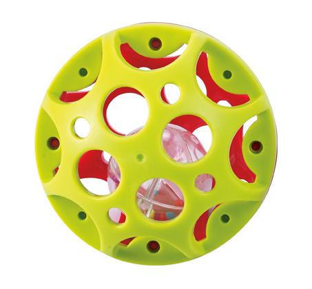 'כדור המשחק הראשון שלי' קל לאחיזה המכיל כדור צבעוני המשמש כרעשן - תמונה 3