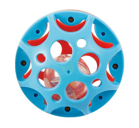'כדור המשחק הראשון שלי' קל לאחיזה המכיל כדור צבעוני המשמש כרעשן - תמונה 4