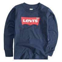 LEVIS ילדים // LONG SLEEVE GRAPHIC TEE NAVY