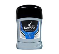 מארז 6 יחידות דאודורנט סטיק לגבר Rexona active dry מכיל 50 גרם ליחידה - משלוח חינם