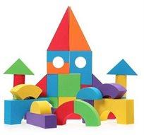 ערכת קוביות לבנייה מסול, בגדלים וצורות שונות מיוחד לקטנטנים