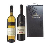 מארז חג Special Reserve הכולל יין אדום ויין לבן יקבי ברקן - משלוח חינם