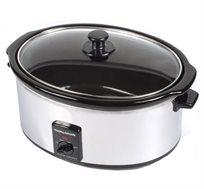 סיר בישול איטי 8 ליטר מתאים לבישול אחיד של כל סוגי המזון Morphy Richards דגם 48735T מתצוגה