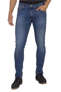 ג'ינס LEE לגברים בצבע כחול