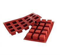 תבנית קוביות 15 שקעים 100% סיליקון עם החישוק המייצב מסדרת קרין גורן