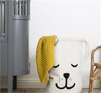 סל אחסון כלב RICO BRAND עשוי בד כותנה