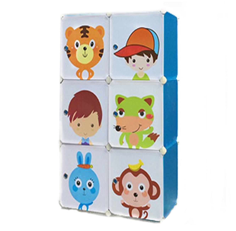 כוורת פלסטיק לאחסון לחדרי הילדים בגדלים לבחירה דגם ספייסי
