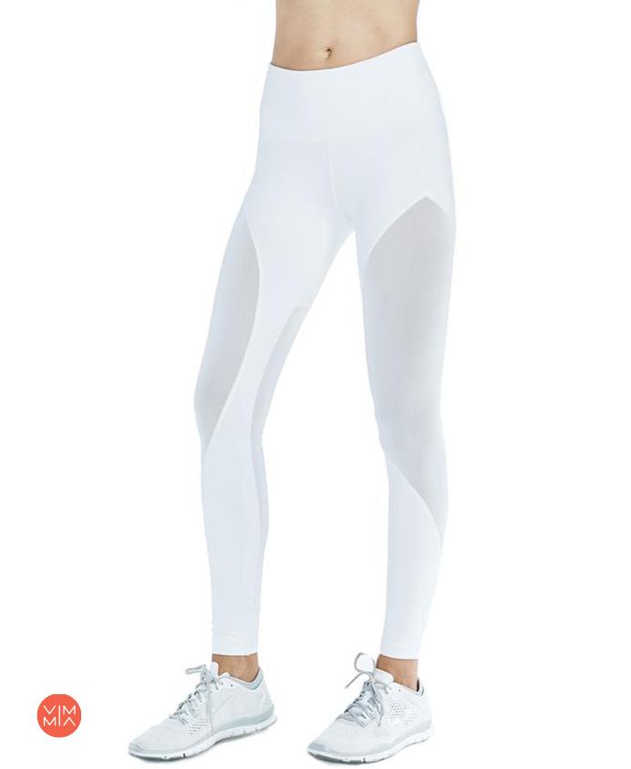מכנס ספורט לבן  Bold Legging