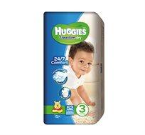 מארז 3 חבילות חיתולים Huggies Freedom Dry להגנה על עור התינוק