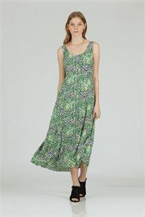 שמלה ליב ירוק - CUBiCA
