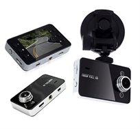 """מצלמת רכב דו שימושית 1080P כולל צג """"2.4 לצילום מספרי רכב באופן ברור + כרטיס זיכרון 8GB מתנה!"""