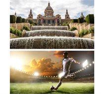 לאוהבי כדורגל! 3 לילות בברצלונה + כרטיס לברצלונה מול אייבר החל מכ-€636*