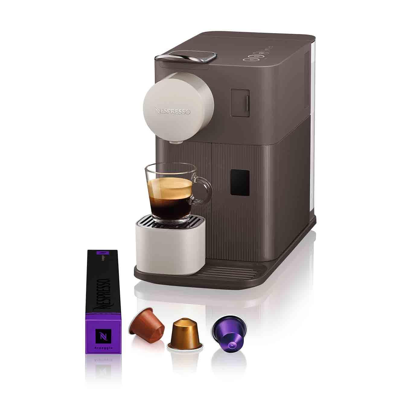 """מכונת קפה Nespresso לטיסימה One בגוון חום מוקה דגם F111- שובר מתנה 200 ש""""ח לרכישת קפסולות  - משלוח חינם"""