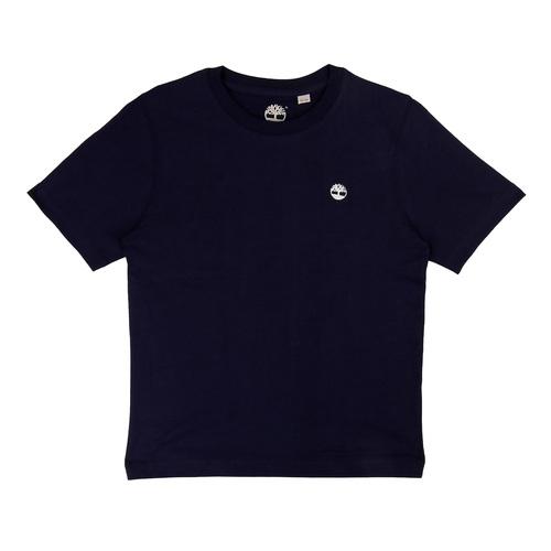Timberland טימברלנד טישרט (2-16 שנים) - כחול סמל קטן