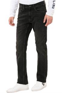 ג'ינס Nautica גזרת slim strech לגברים בצבע שחור עם שטיפה עדינה