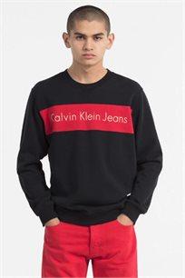 סווטשירט לגברים של קלוין קליין דגם J30J306994099 בצבע שחור