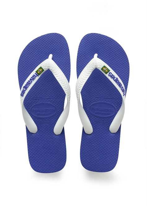 Havaianas יוניסקס // Brazil Logo Blue/White