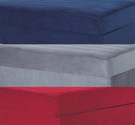 מיטה וחצי אורתופדית עם מזרן שורות קפיצים מבודדות כולל ארגז וראש מתכוונן דגם קים בצבעים לבחירה - תמונה 4