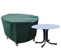 כיסוי לסט שולחן+כסאות גינה עגול