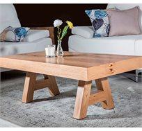 שולחן אורסיני מעץ פורניר אלון מבוקע VITORIO DIVANI