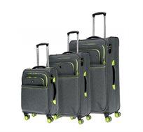 סט מזוודות 3 גדלים SWISS BRIEF במגוון צבעים לבחירה