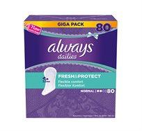 4 חבילות מגן תחתון מבושם Always Mega Pack במארזים לבחירה